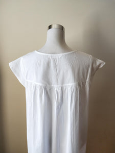 French Country Cotton Nightie Australia | Pure Cotton Nightwear Australia | Pure Cotton Nighties Australia | Plus size pure cotton nightie Australia | Ladies large cotton nighties Australia