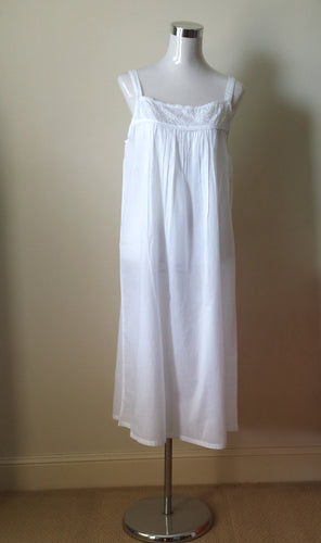 French Country Cotton Voile Nightie FCP250V | pure cotton nighties Sydney Australia | French Country Nighties Sydney Australia