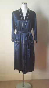 Ladies pure silk kimono wrap dressing gown Australia | silk dressing gown for ladies Australia