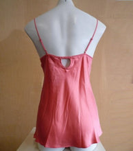 Load image into Gallery viewer, Love and Lustre Silk Camisole in Coral LL564