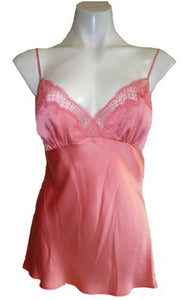 Love and Lustre Silk Camisole in Coral LL564