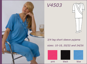 Vikki James Sleepwear Rendezvous Modal Pyjama Set - was $129.95 - Matilda Jane Lingerie & Sleepwear