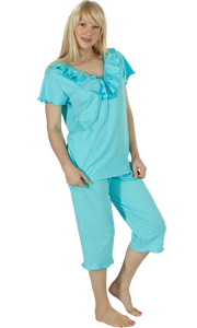 Vikki James Romance Cotton Jersey Pyjama Set - Matilda Jane Lingerie & Sleepwear