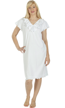 Load image into Gallery viewer, Vikki James Romance Cotton Jersey Nightie - Matilda Jane Lingerie & Sleepwear