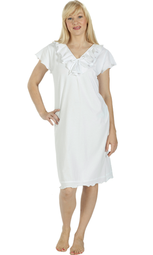 Vikki James Romance Cotton Jersey Nightie