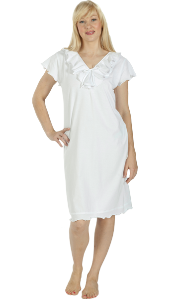 Vikki James Romance Cotton Jersey Nightie - Matilda Jane Lingerie & Sleepwear