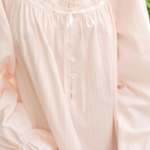 Highness Moon Victorian Style Cotton Nightgown MS16081 - Matilda Jane Lingerie & Sleepwear