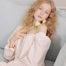 Load image into Gallery viewer, Highness Moon Victorian Style Cotton Nightgown MS16081 - Matilda Jane Lingerie & Sleepwear