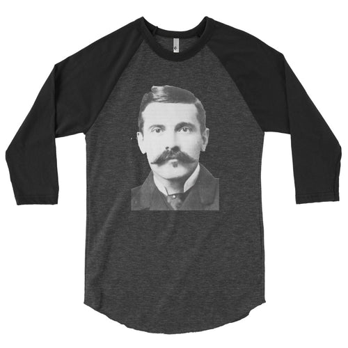 Doc Holliday 3/4 sleeve raglan shirt