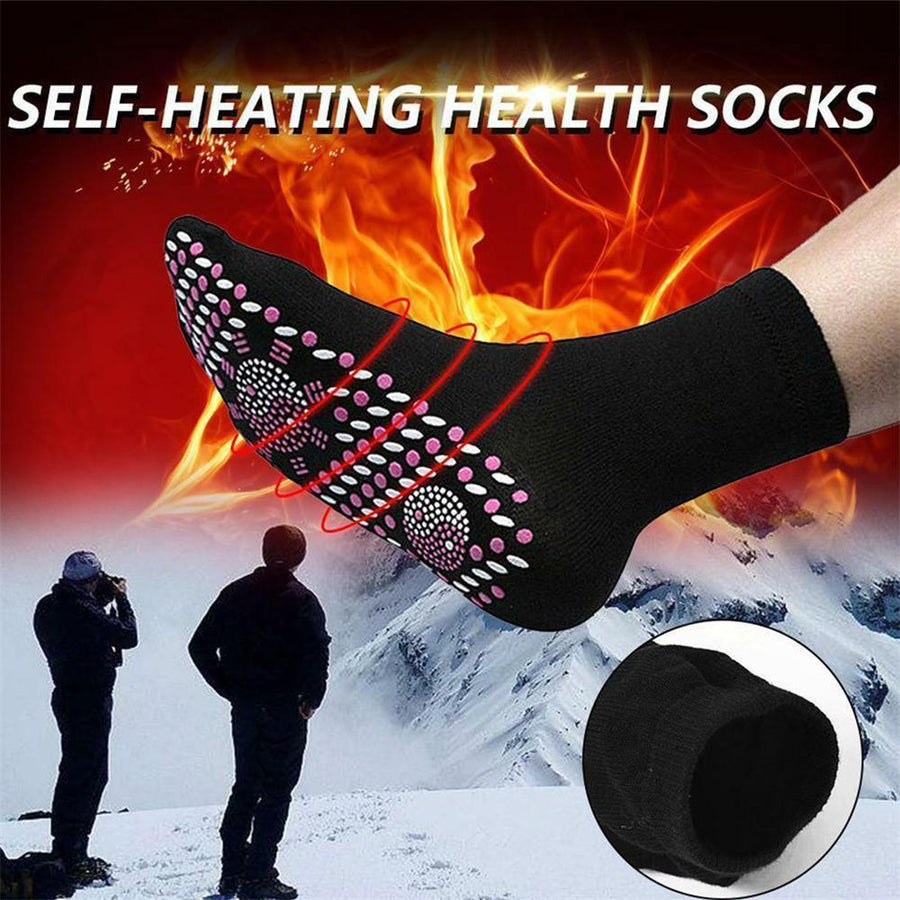 Self-heating Magnetic Socks for Women Men Self Heated Socks Tour Magnetic Therapy Comfortable Winter Warm Massage Socks Pression