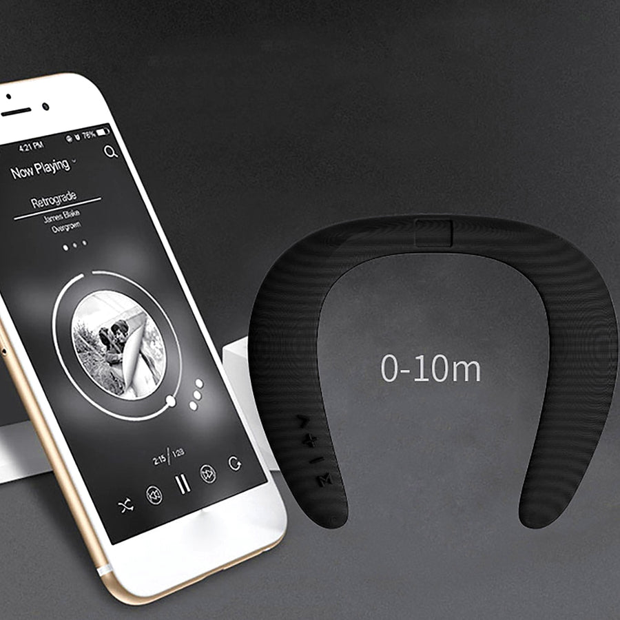 Wearable Bluetooth Neck Speaker