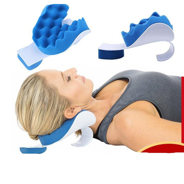 Neck Shoulder Relaxer Traction Device