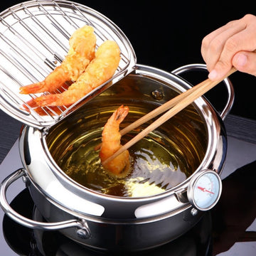 Deep Frying Pot Temperature Control