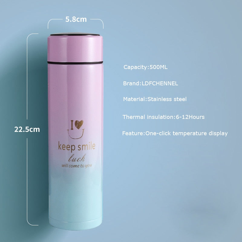 500ML Smart Thermos