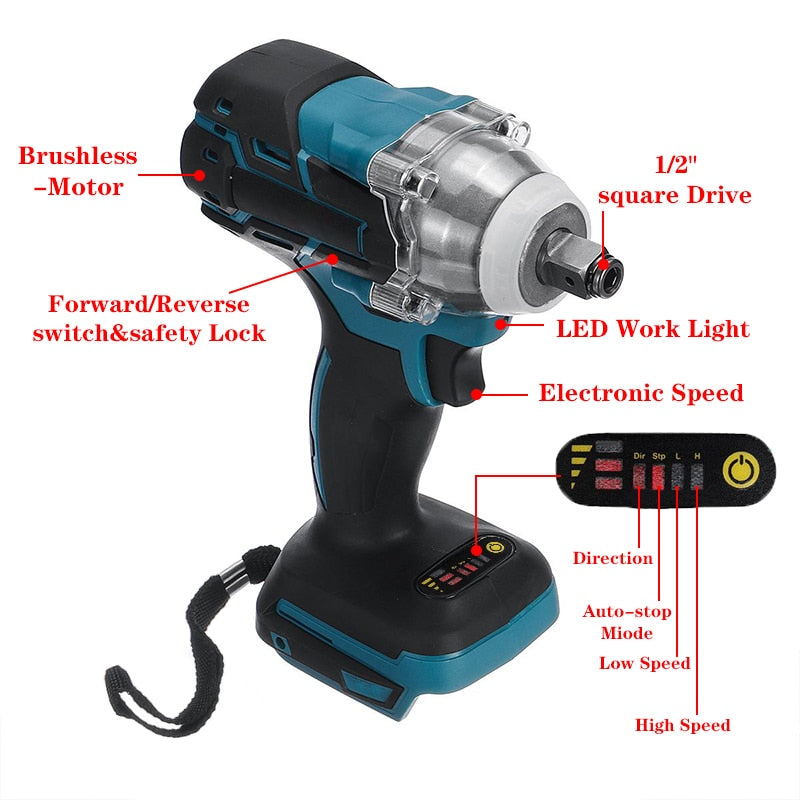 Cordless Electric Wrench