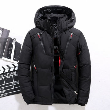 Hooded Outdoor Thick Warm Padded Snow Coat