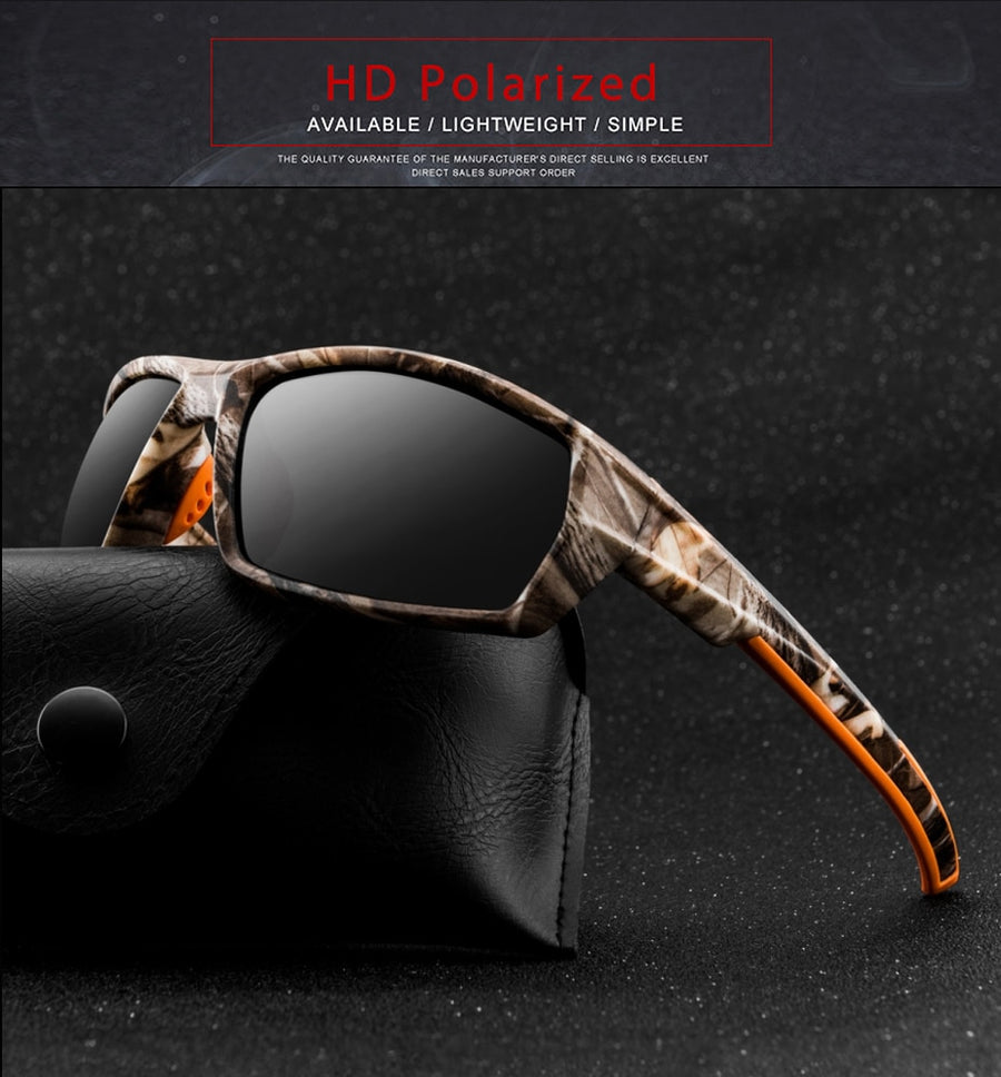 Fashion Polarized Sunglasses - Men Luxury Brand Shades