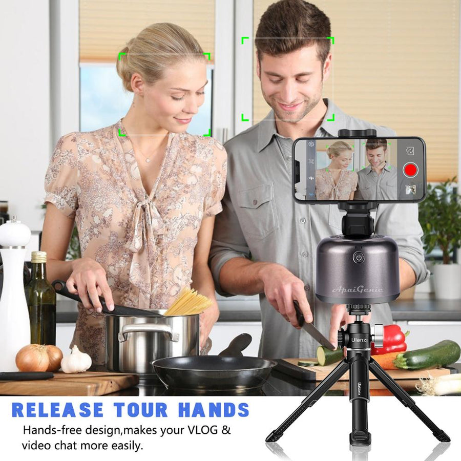 360° Rotation Smart Selfie Stick