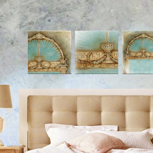 ARCHITRAVE COLLECTION - 3 X Canvas Prints