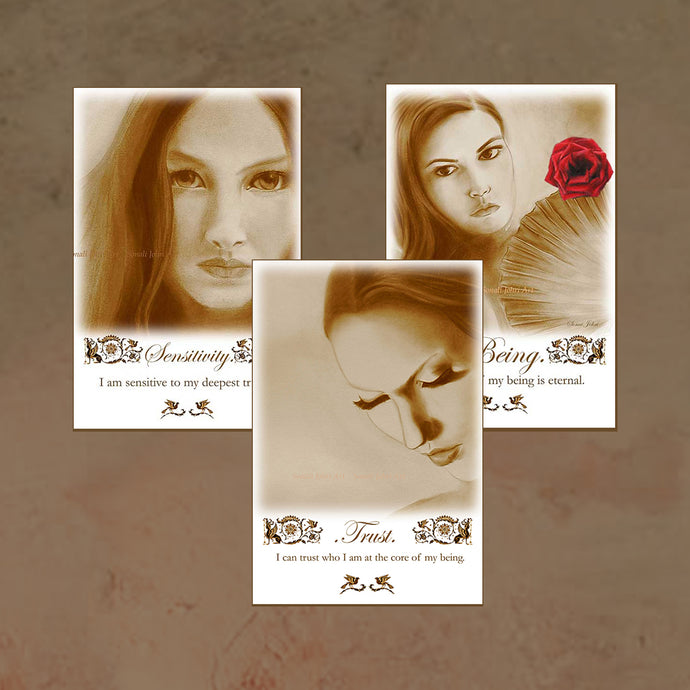 SEPIA COLLECTION - 3 X Canvas Prints