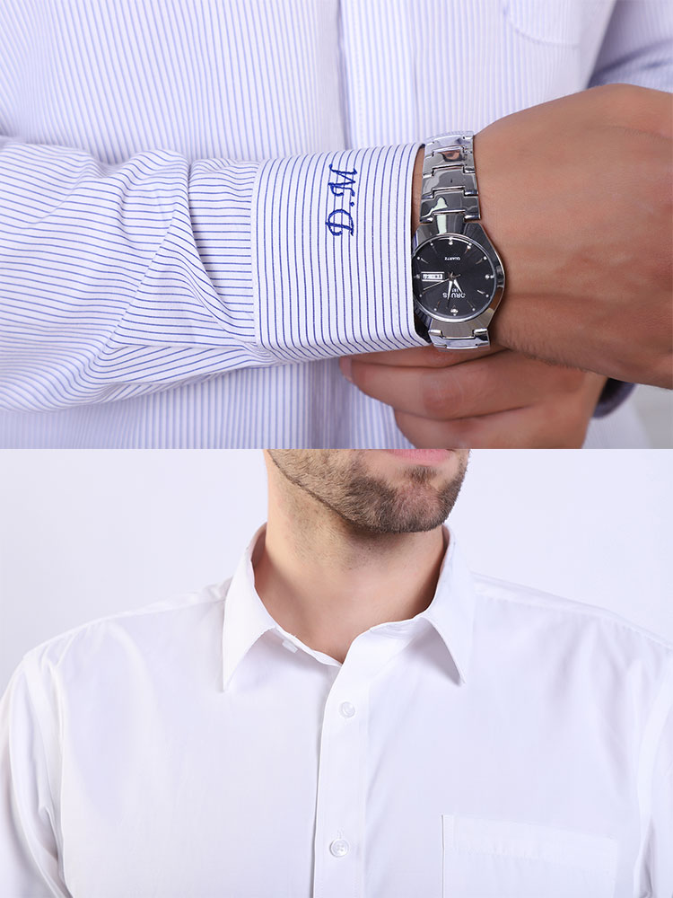 Details-monogramed-dress-shirt-details