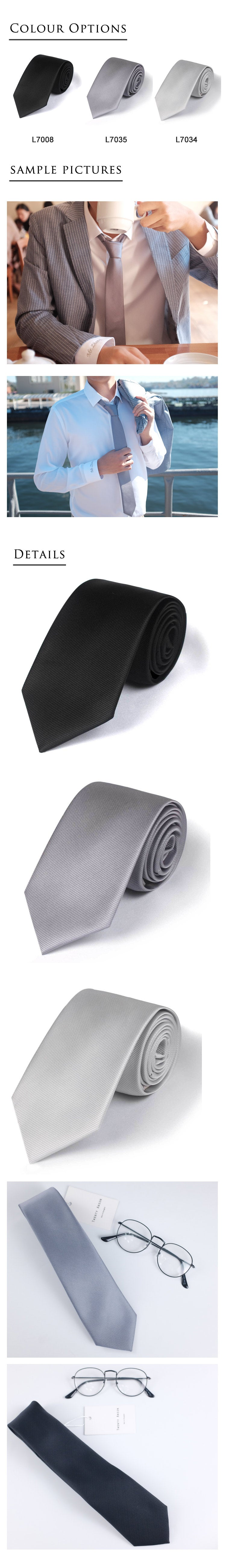 Solid-colour-necktie