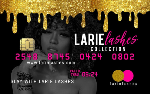 Larie Lashes Gift Card