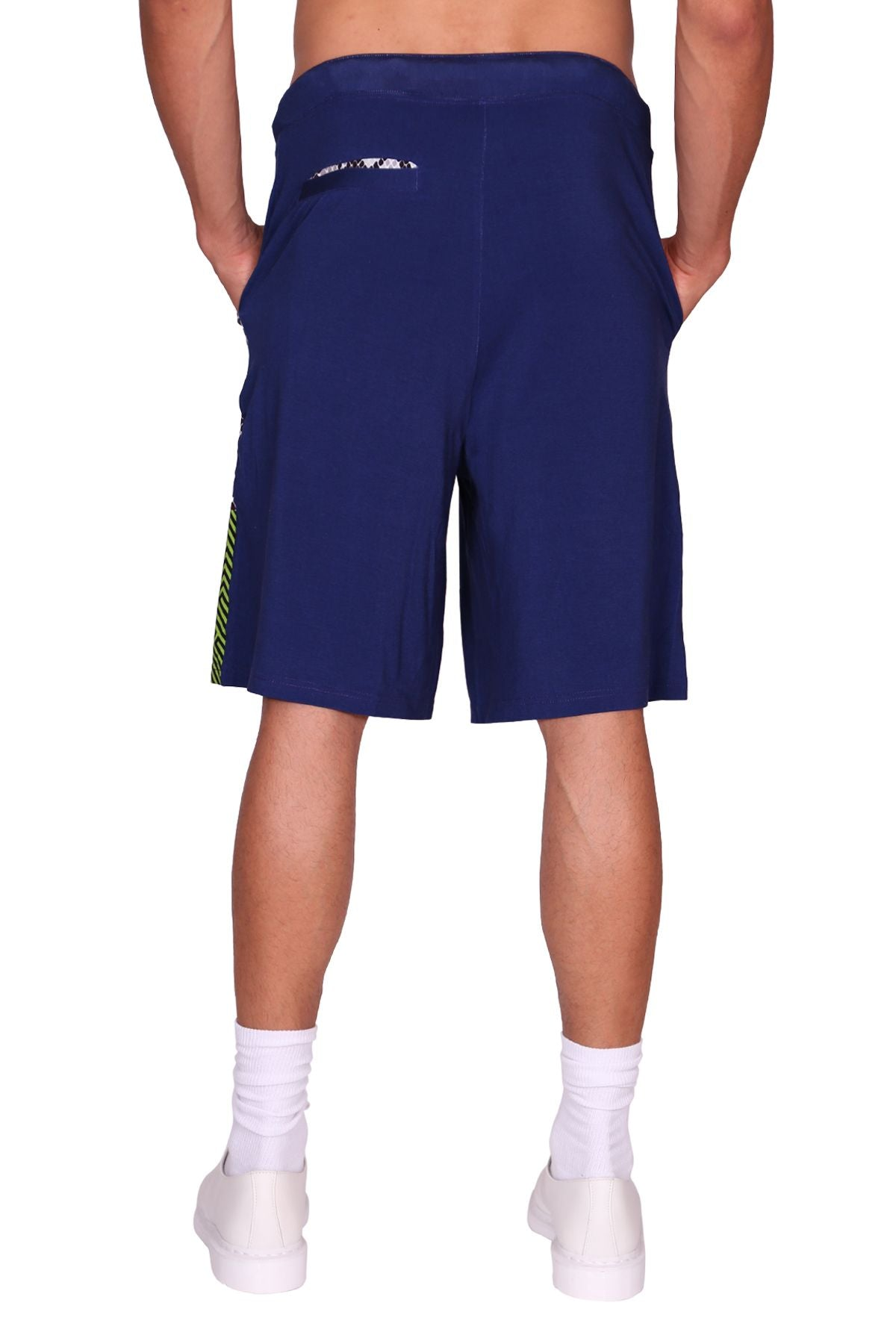 Blurple Layered Short