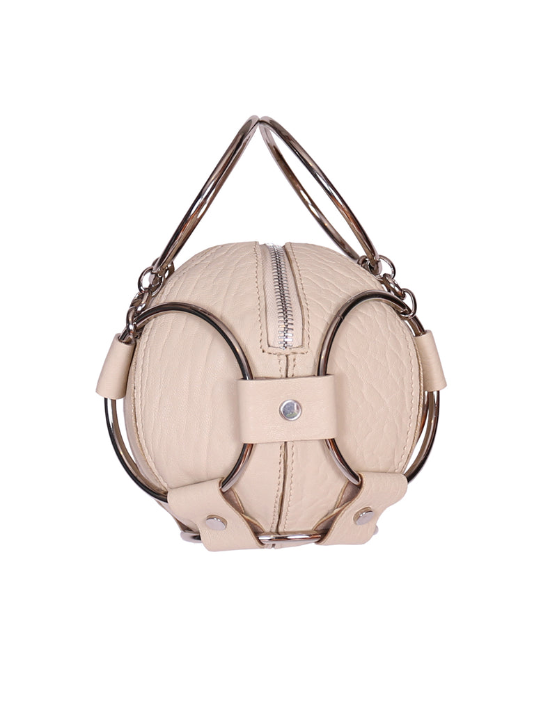 Baby Baller Bag in Cream