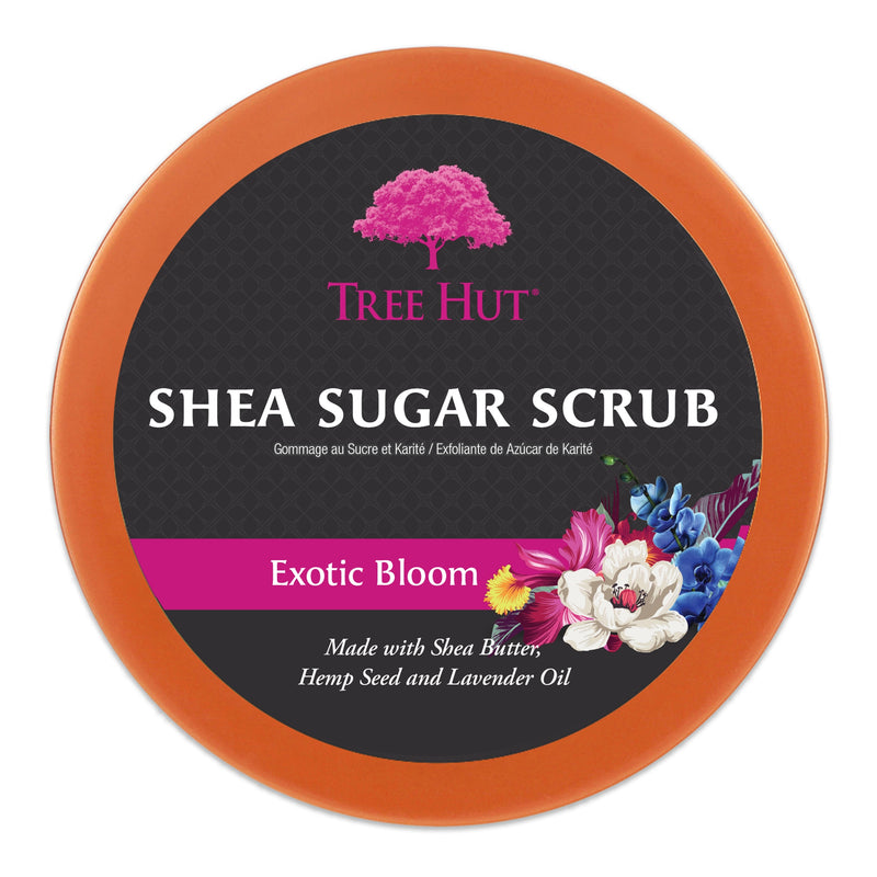 Tree Hut Shea Sugar Scrub Exotic Bloom