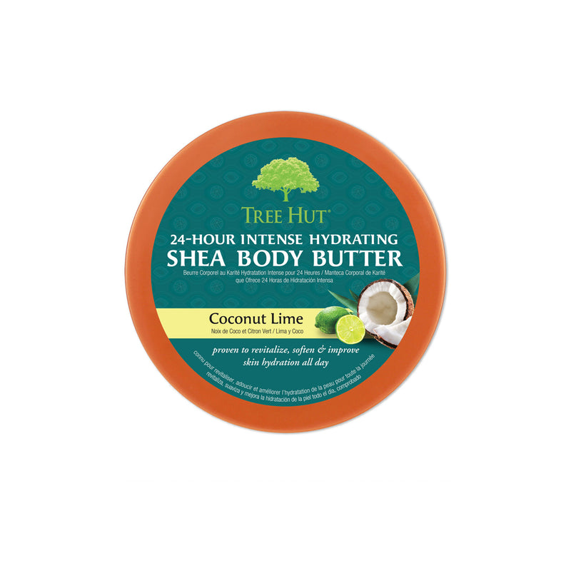 Hydrating Shea Body Butter Coconut Lime top