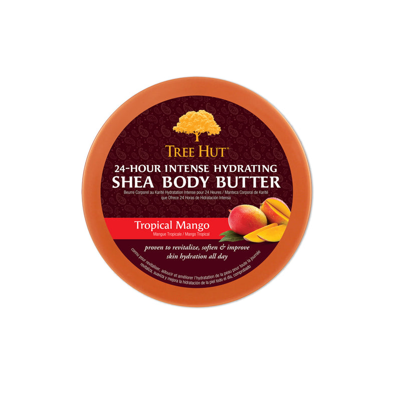 Tree Hut 24 Hour Intense Hydrating Shea Body Butter Tropical Mango