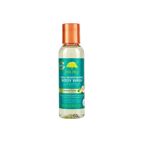 Tree Hut Shea Moisturizing Body Wash Coconut Lime mini 2 oz
