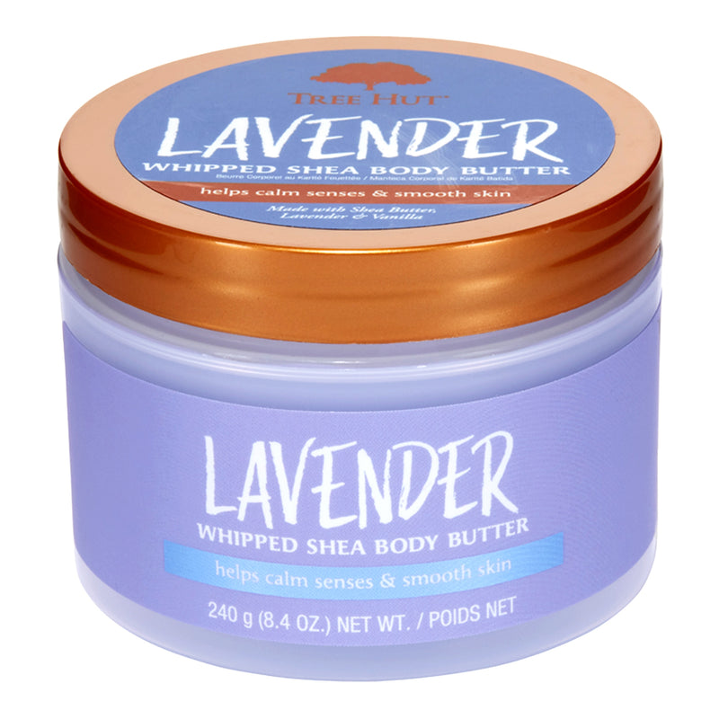Tree Hut Lavender Whipped Body Butter