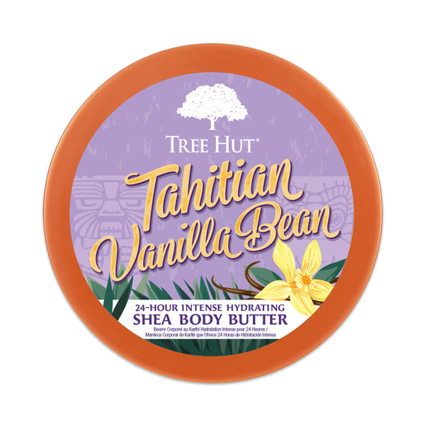 Tree hut 24 hour Intense Hydrating Shea Body Butter Tahitian Vanilla Bean
