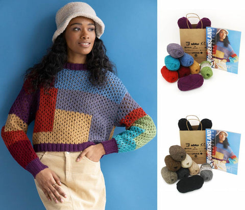 KFI Drop Kit: Becky Sweater in Walkabout Organic Shetland Wool