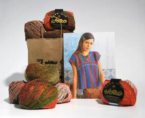 KFI Drop Ship Kit: Two Way Top featuring Noro Silk Garden Lite