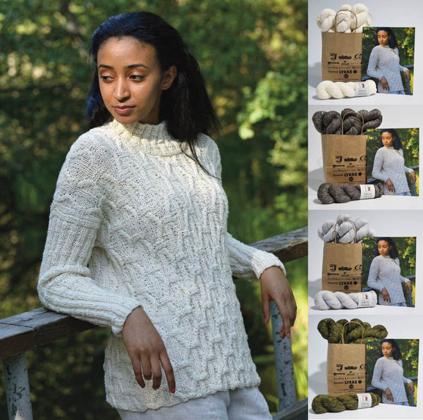 KFI Drop Ship Kit: Rikki Sweater by Elsebeth Lovold