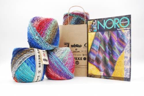 KFI Drop Kit: Textured Blanket in Bauchi and Kanzashi