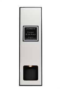 LJC Candle Co Luxury Bamboo Reed Diffusers Matte Black Scented