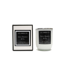 LJC Candle Co | Small white wooden wick soy candle with silver lid | Handmade in Brisbane