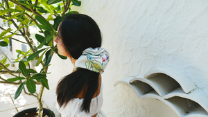 Chasing Butterflies ~ Patterned Oversized Scrunchie