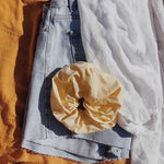 Limón Oversized Butter Lemon Yellow Scrunchie | Señorita Scrunchie Australia