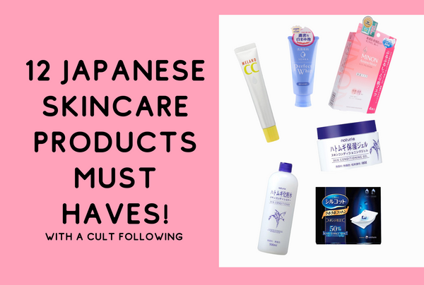 Top 12 Japanese Drugstore Skincare Products must haves!