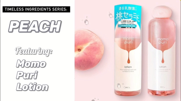 Timeless Ingredients Series: Peach Feat. Momo Puri Lotion