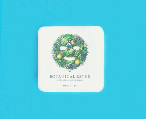 Botanical Esthe Japanese Sheet Mask