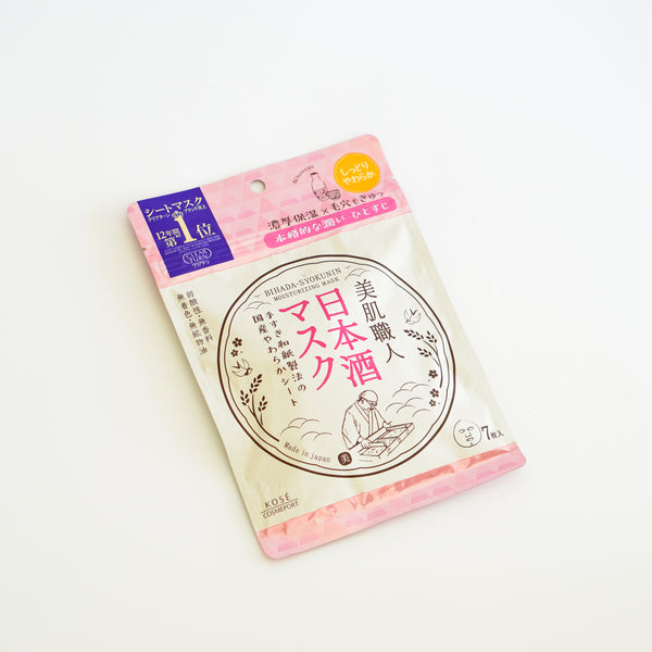CLEAR TURN BEAUTIFUL SKIN ARTISAN SAKE MASK