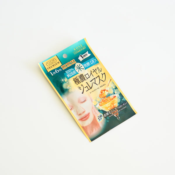 Clear Turn Premium Royal Jelly Mask (Rice)
