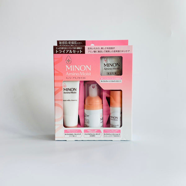 minon amino moist trial set