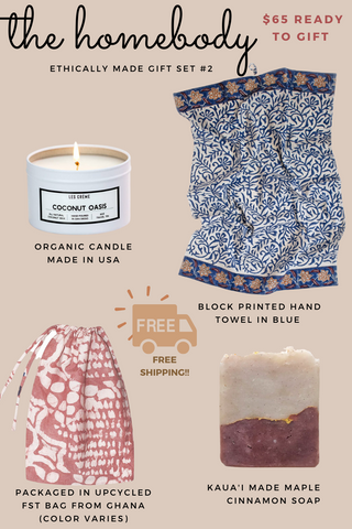 Ethically made gifts for homebody
